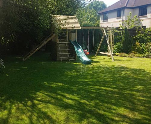 Garden Play Gallery Image GPFX with net frame