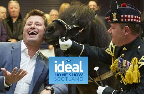 Ideal Home Show Scotland news banner