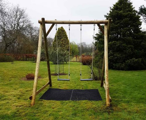 garden play DFA double swing frame
