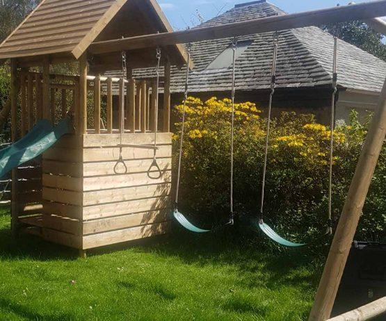 garden play sling swing
