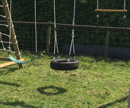 Horizontal Tyre garden play horizontal tyre