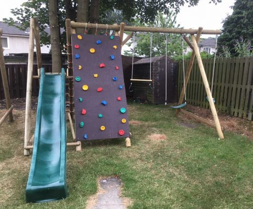 Garden Play adapted A Frames Bespoke Combination product listing image