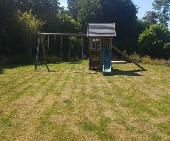 Garden Play Fort with extension GPFX