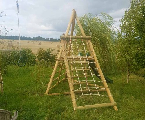 Pyramid Slide Frame with CNF garden play product listing image
