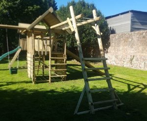MBL garden play monkey bar ladder add-on product listing image