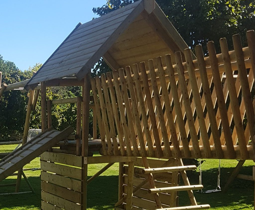 garden play product listing image v timber bridge add on VBR