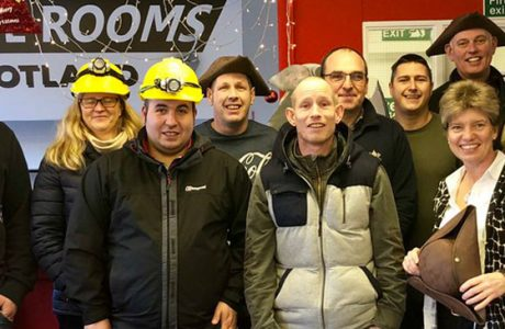 New banner image Staff Christmas outing 2018 Escape Rooms