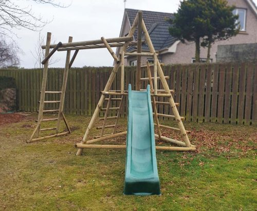 product listing image Garden Play Pyramid Monkey Frame PMF