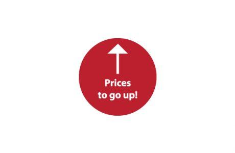 News banner image price increase