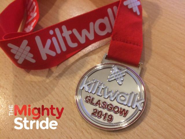 medal kiltwalk