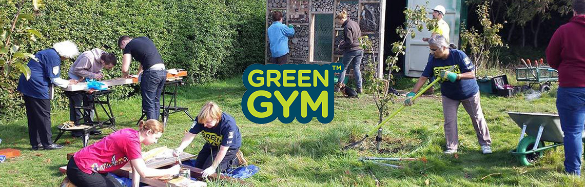 Green Gym banner image news
