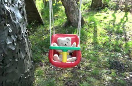 News banner image swing seats change video Garden Play