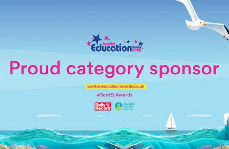 News banner SEA sponsor Scottish Education awards 2020