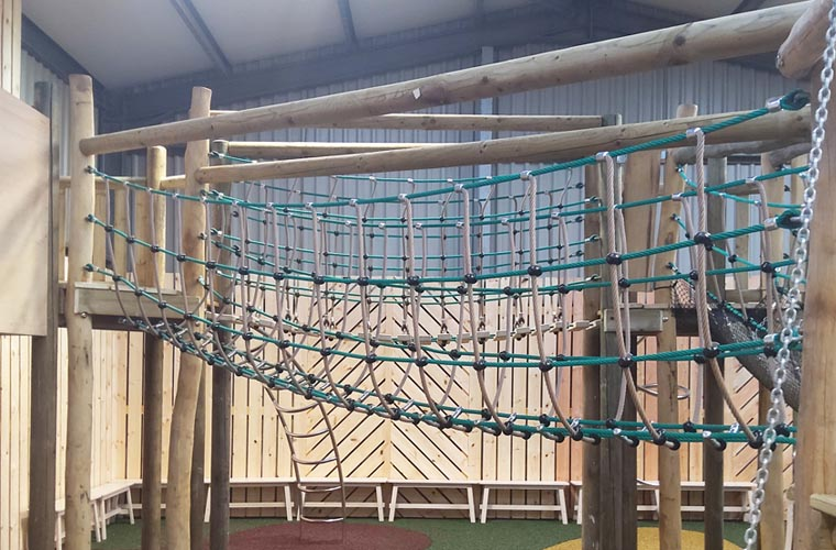 All nets manufactured specifically for this installation
