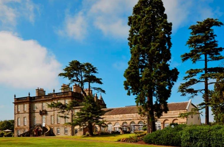 Dalmahoy Country Club - a beautiful setting