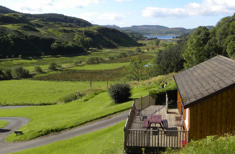 Lagnakeil is situated in a beautiful Scottish Glen