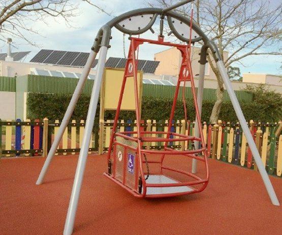 Inclusive Wheelchair Swing