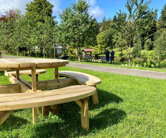 Wheelchair Accessible picnic Table for schools