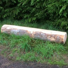 EDU COM Product listing image Natural Log Bench