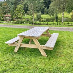 Rectangular Picnic bench Product Listing Image