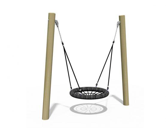 Junior basket swing