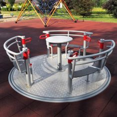 Wheelchair Roundabout MT-RNDW3 product listing image